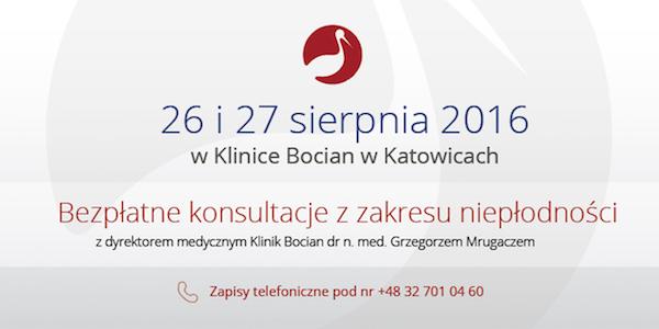 Klinika Bocian informacja